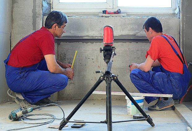 měření laserem