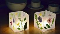 Květinové lampičky vyrobíte snadno a přinesou mnoho radosti