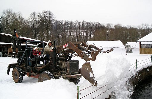 odvoz sněhu