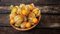 Plody mochyně peruánské (Physalis peruviana) jsou jedlé.