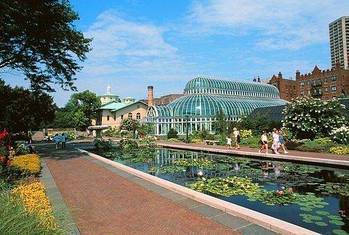 Brooklynské botanické zahrady, New York