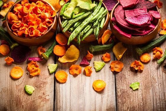 Sušení zeleniny je tradiční metoda, k níž nám poslouží nové technologie
