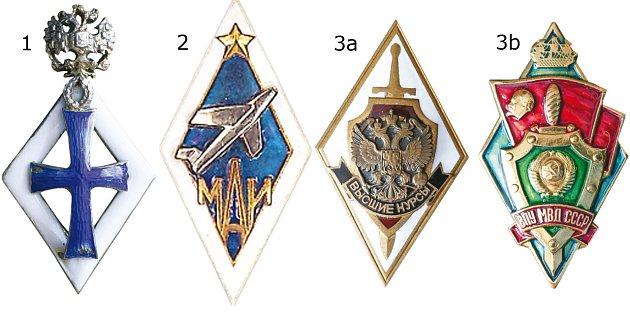 odznaky ze sbírky