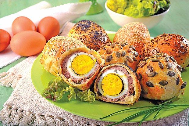 Skotská vejce v těstíčku