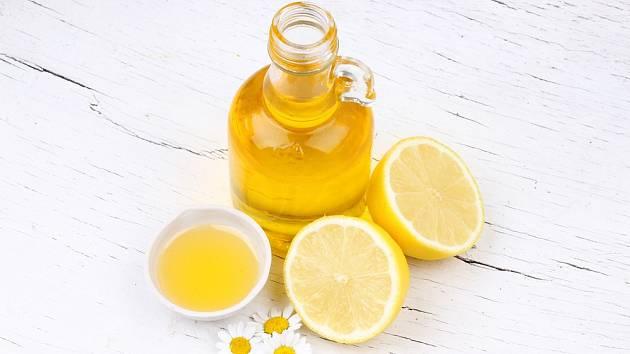 Citron a olivový olej