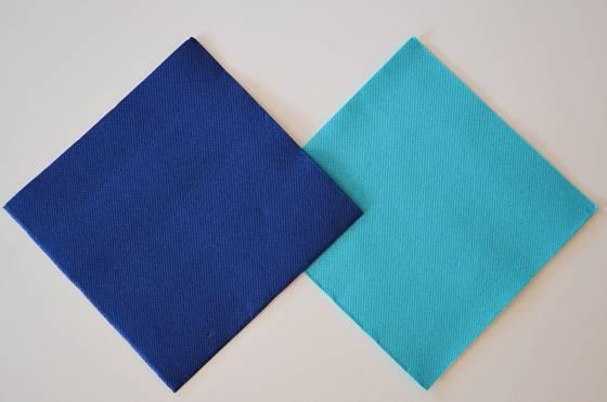 Vybereme barvy moře ve dvou odstínech