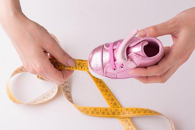 Pouhé změření délky boty může vést k nákupu špatné velikosti obuvi.