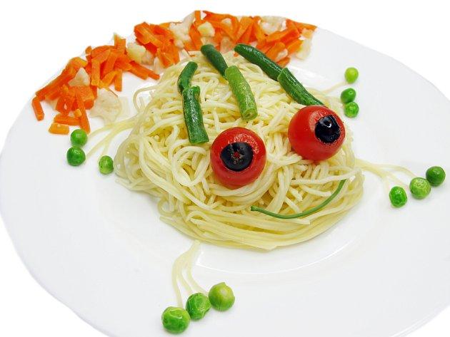 rozpustilé špagety