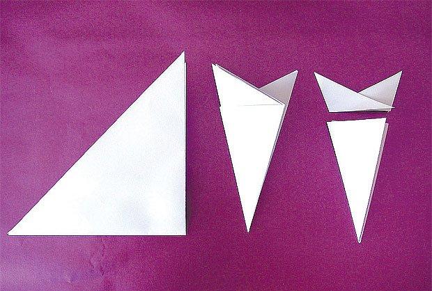 výchozí trojúhelník