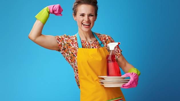 Jar poslouží nejen k umytí nádobí, ale i na zahradě