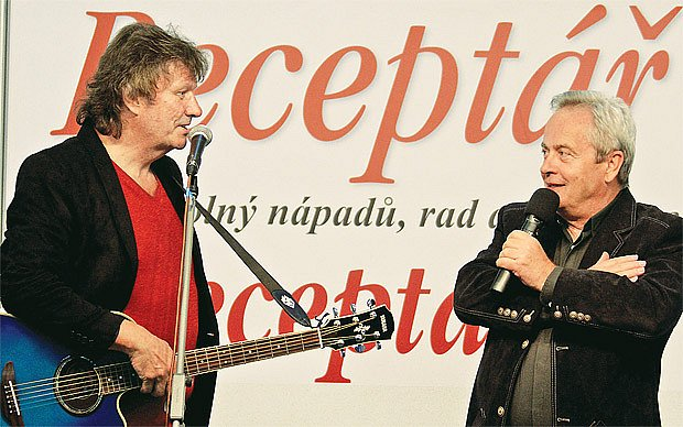 Stanislav Hložek a Alexandr Hemala