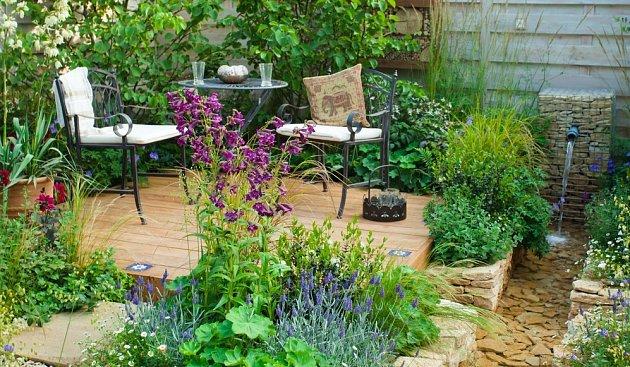 Posezení by mělo stát v nejatraktivnější části zahrady