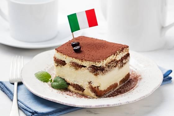 Tiramisu patří k novodobým symbolům italské kuchyně.