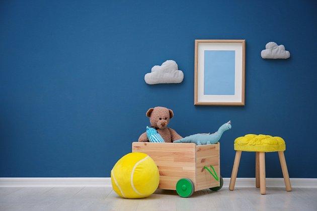 Bedýnka s kolečky usnadní přesun hraček.
