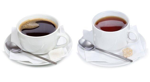 káva s čajem
