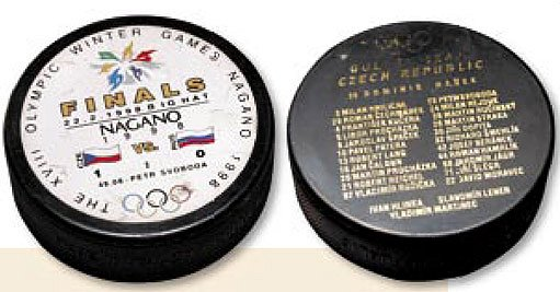 Upomínka na olympijské Nagano 1998 - líc a rub