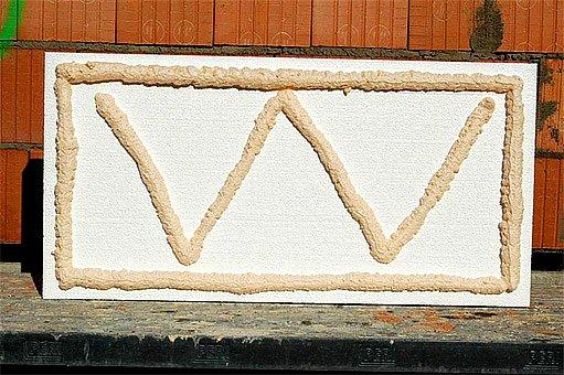 lepení polystyrenových desek přímo na cihly