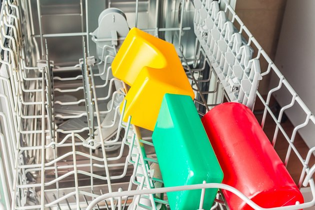 Některé modely myček nabízejí speciální program na mytí hraček.
