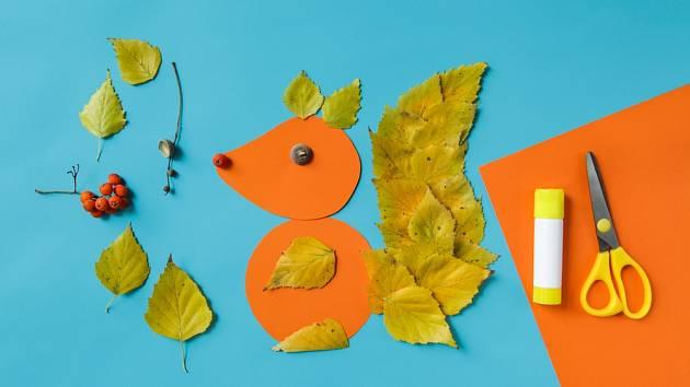 Veverka z listů