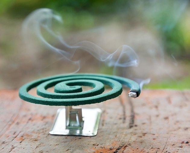 Repelentní spirály jsou ideální pro venkovní použití