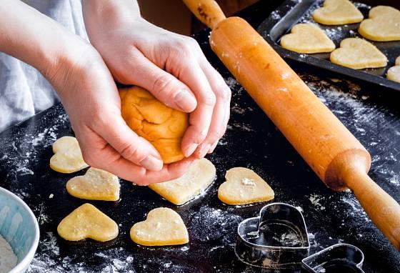 Sušenky si můžete upéct v nejrůznějších tvarech