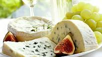 fíky se sýrem jsou výtečnou kombinací