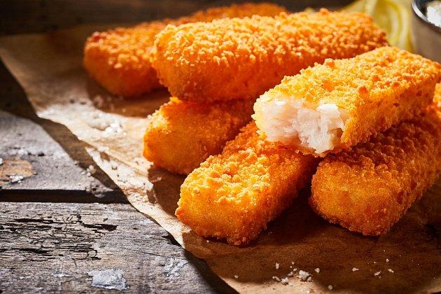 Rybí prsty často obsahují jen malý podíl rybího masa.