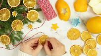Sušené plátky citrusů jsou sázkou na jistotu