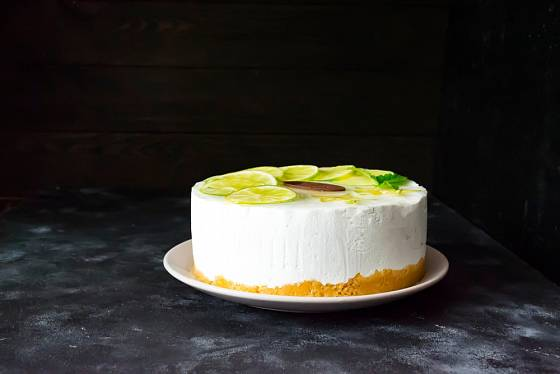 Limetový můžete vyrobit i cheesecake.