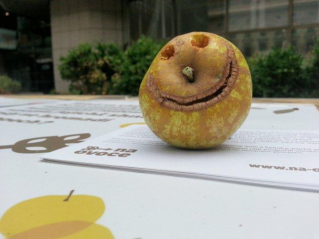 usměvavé jablko