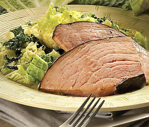 uzené maso s kapustou