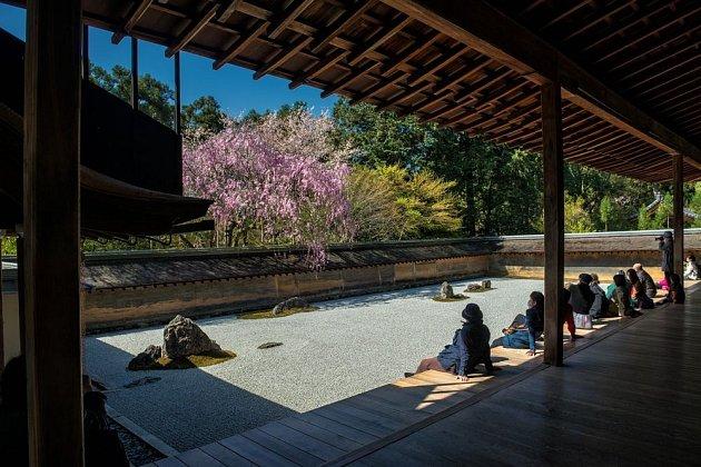 Zenová zahrada Ryoan -ji