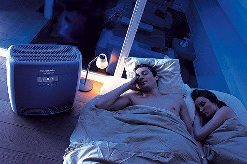 čistička vzduchu může zmírnit některé dýchací obtíže