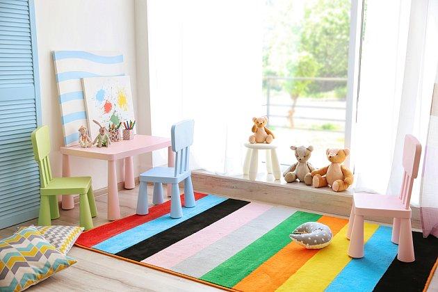 Dětský pokoj je jedinou místností, kde můžete porušit všechna pravidla a výsledek bude přesto vypadat dobře.