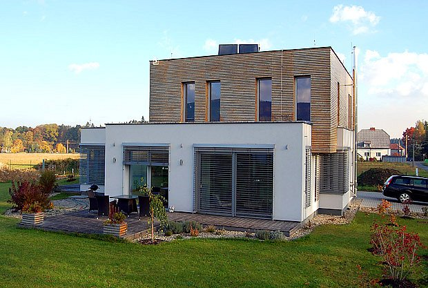 energeticky úsporný dům postavený systémem Sendwix