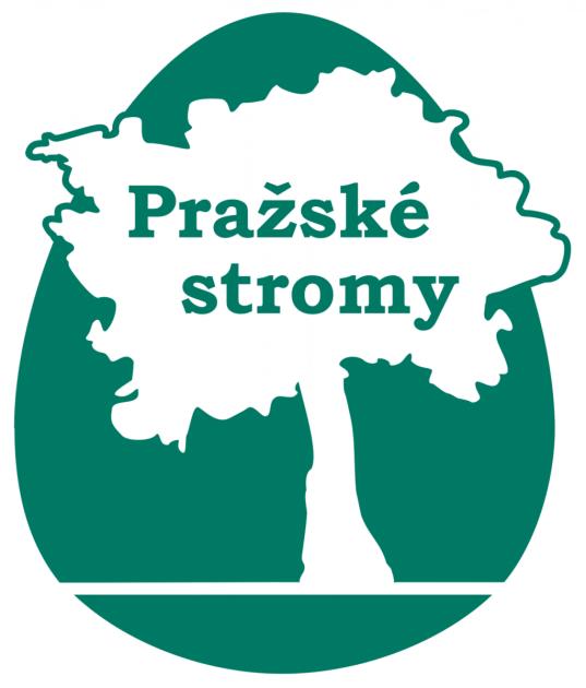 Pražské stromy - logo webu