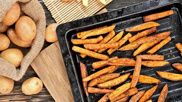 Smažené nebo pečené? Američané podrobili hranolky studii.