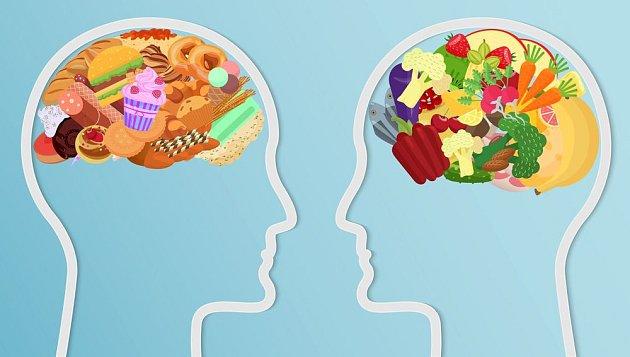Jídelníček ovlivňuje naše mentální zdraví