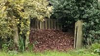 kompost na listí