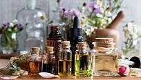 Oleje s vůní bylin a koření