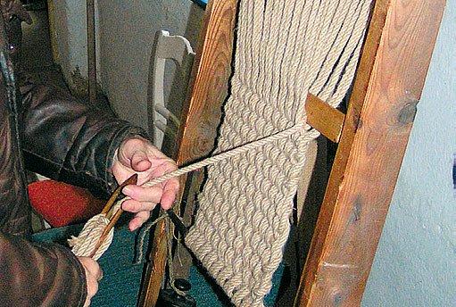 pletení rohože