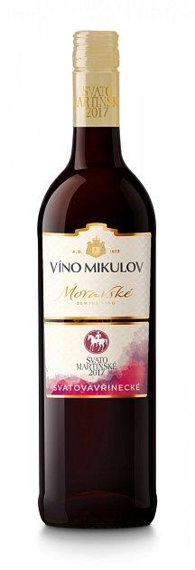 Víno Mikulov, Svatomartinské Svatovavřinecké 2017