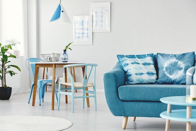 Batiku můžeme využít i k výzdobě interiéru.