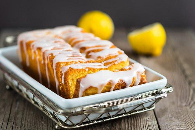 Citronový chléb vás příjemně osvěží.