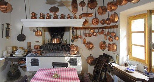 kuchyň na chalupě