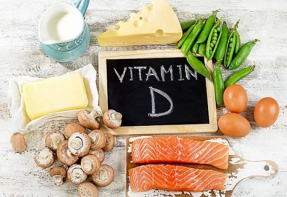 Potraviny s významným obsahem vitamínu D