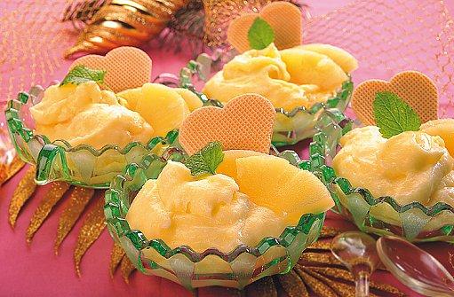 ananasový krém