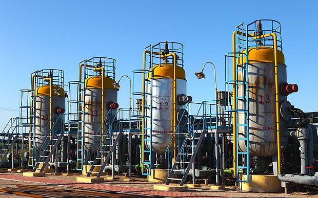 zásobníky zemního plynu