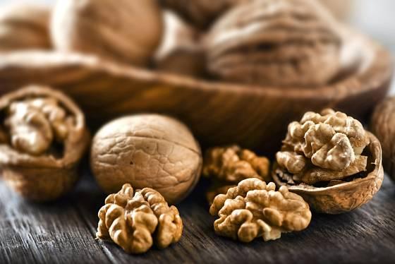 Vlašské ořechy jsou blahodárné pro tělesné i duševní zdraví