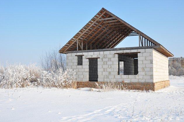 Stavba z pórobetonu